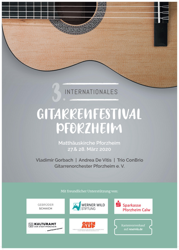 3.Internationales Gitarrenfestival Pforzheim